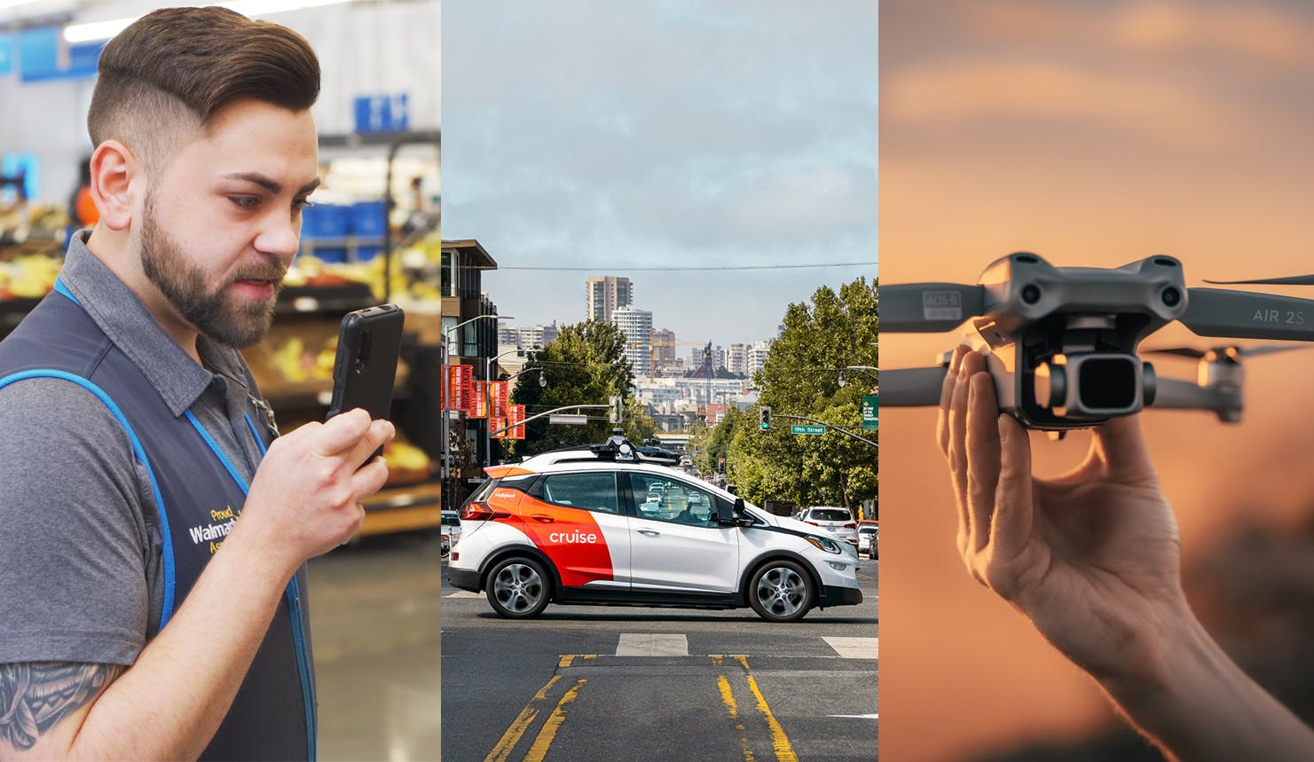 Walmart gives employees new Samsung phones—Cruise gets the green light for driverless rides in California—Pentagon clears DJI drones