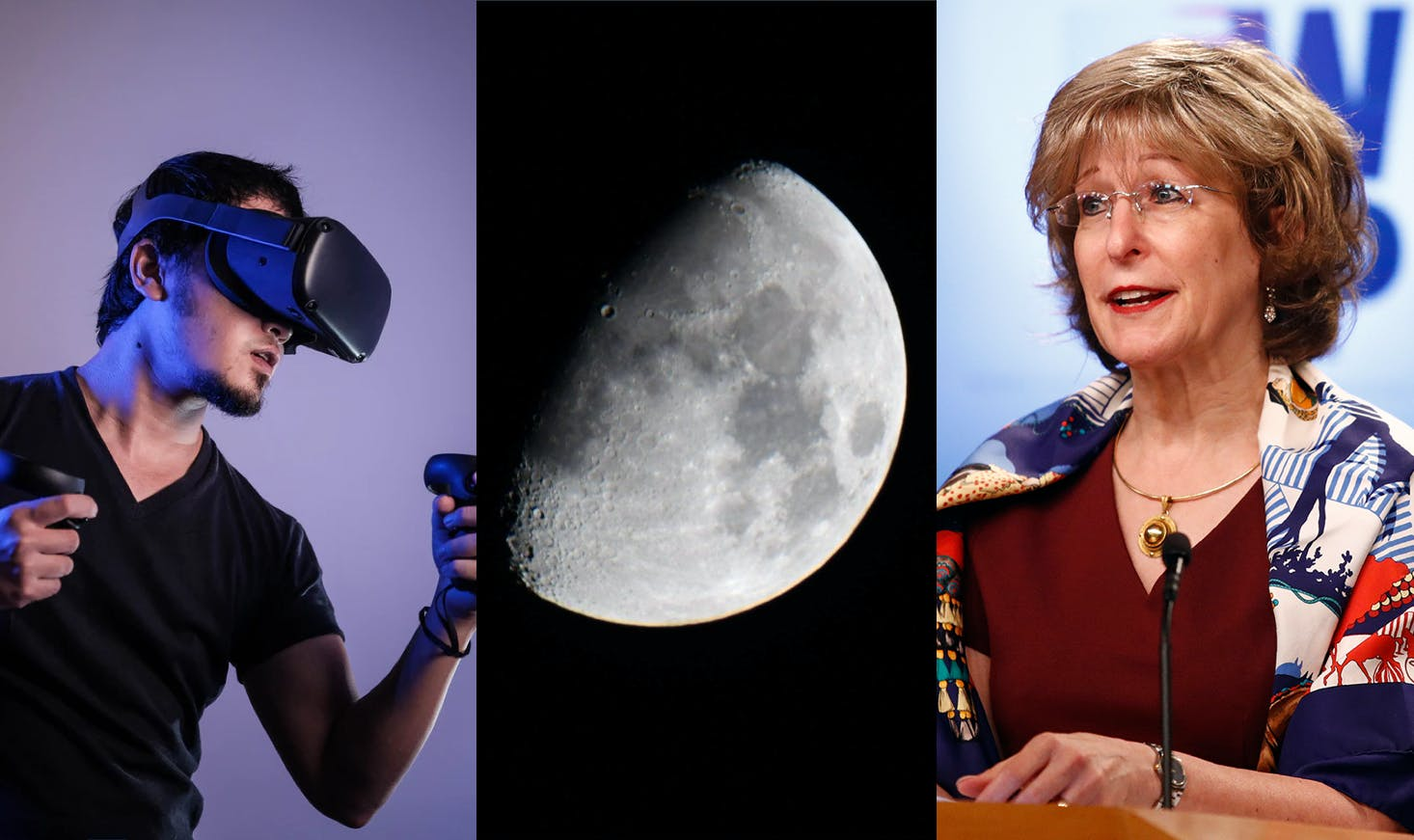 Why the VR revolution has been 5 minutes away for 8 years—NASA and Nokia look to bring 4G to the moon—USAID Deputy Administrator Bonnie Glick travels to Finland to discuss agreements for 5G infrastructure in developing nations