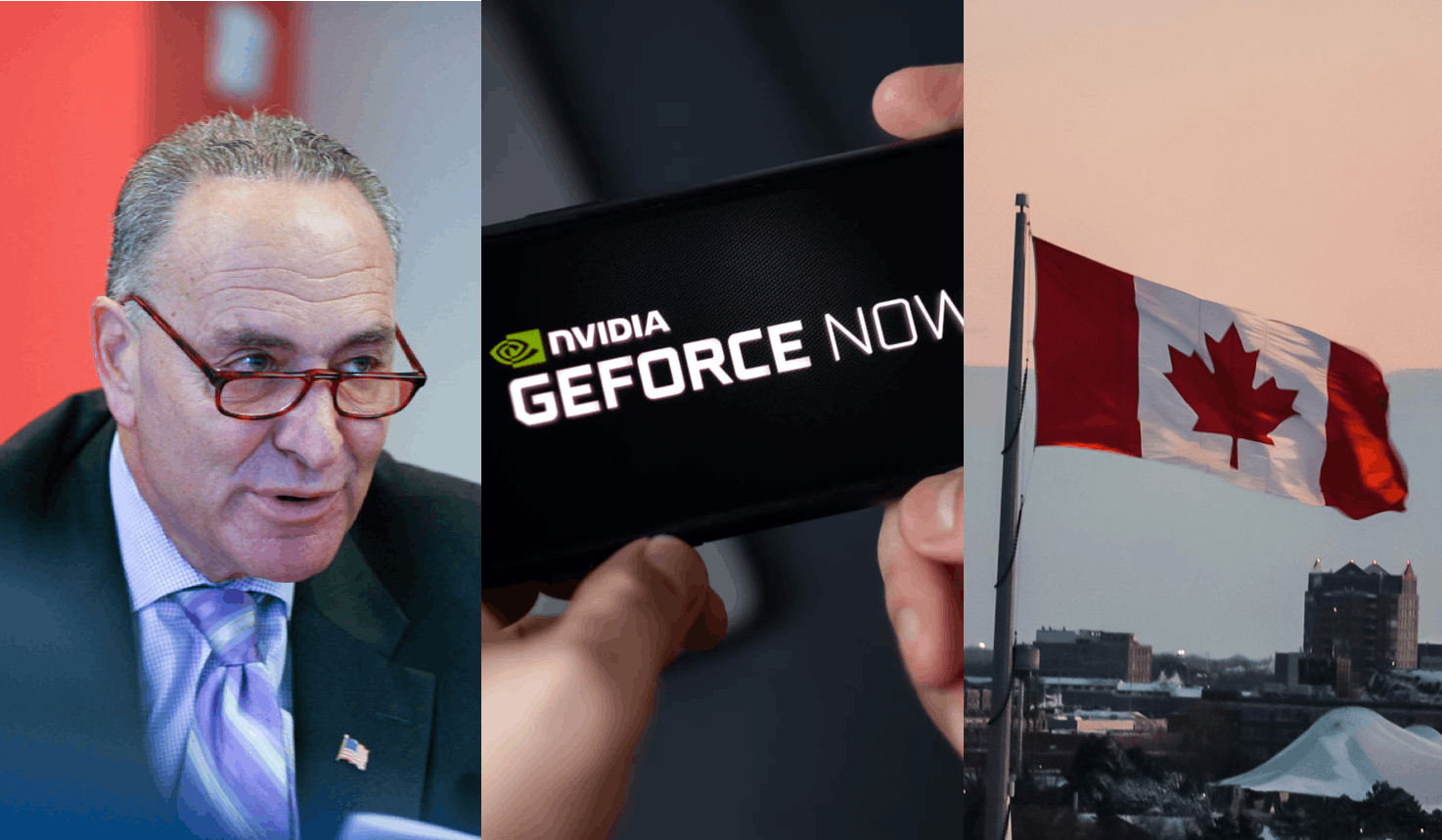 US Senator Chuck Schumer outlines ambitious electric car proposal—Nvidia doubles GeForce Now subscription price—Canadian telco giants Rogers and Shaw announce merger