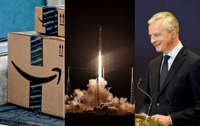 "Amazon's ""empire"" may be threatened by new technologies — SpaceX launches 60 Starlink satellites — Germany & France launch 'Gaia-X' platform in a bid for tech sovereignty"