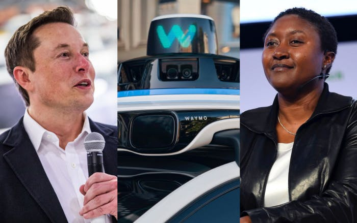 Elon Musk's SpaceX launches 'Starlink' satellite space internet — Waymo partners with Volvo to develop electric robotaxis — Zoox CEO Aicha Evans will continue her role after Amazon acquisition