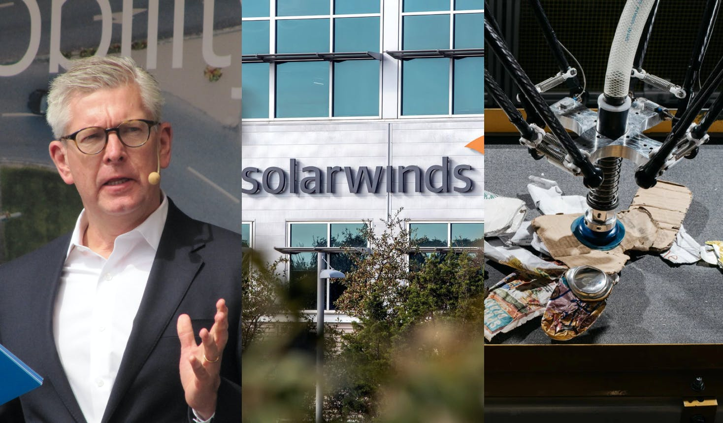 Ericsson CEO lobbies Swedish minister over Huawei ban—The more learned about the SolarWinds hack, the worse it looks—AMP Robotics raises $55 million for AI that picks and sorts recyclables