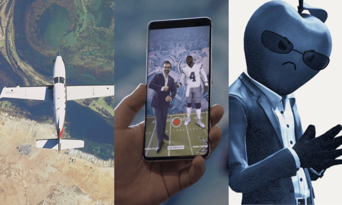 "Microsoft releases their next-generation Flight Simulator — AT&T Business CPO Mo Katibeh using the AR ""pose with the pros"" 5G fan experiences tech at the AT&T stadium — Epic Games takes Apple to bat in an app store dispute over Fortnite"