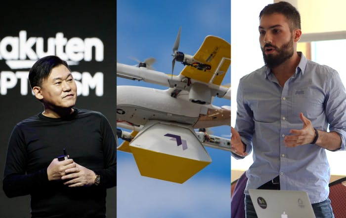 "Rakuten talks with governments about its communications platform — Google's drone delivery service drops off library books to kids — Teltoo's Pablo Hesse is named as one of FierceVideo's ""Emerging Leaders"" finalists"