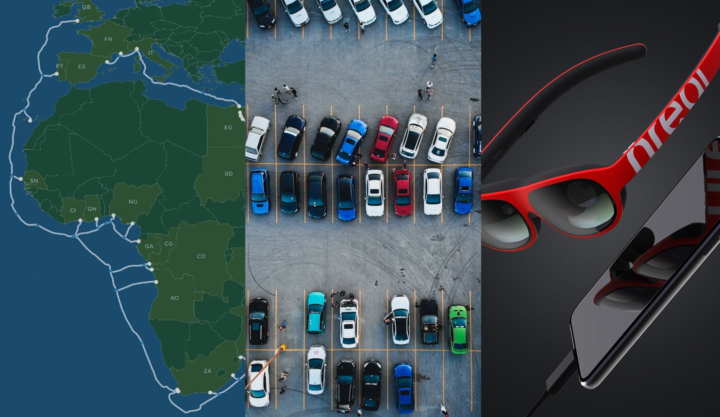 Facebook-lead consortium aims to build undersea cable connecting Africa & the Middle East—Ireland confronts data center energy usage—Cox teams up with Las Vegas for CBRS Smart City trial—Nreal announces new AR glasses