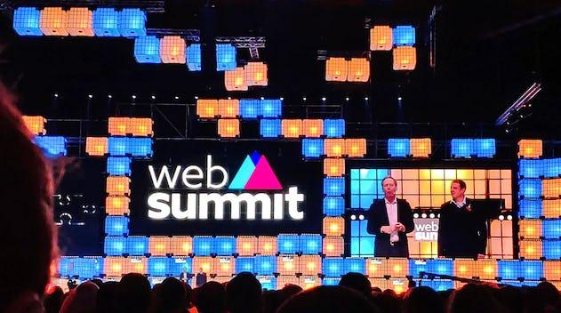 Direct de conférence au Web Summit