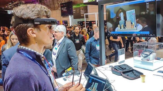 Cas d'usage d'une start-up coréenne de la réalité augmentée associée au BIM (Imagerie Bâtiment Modélisée)