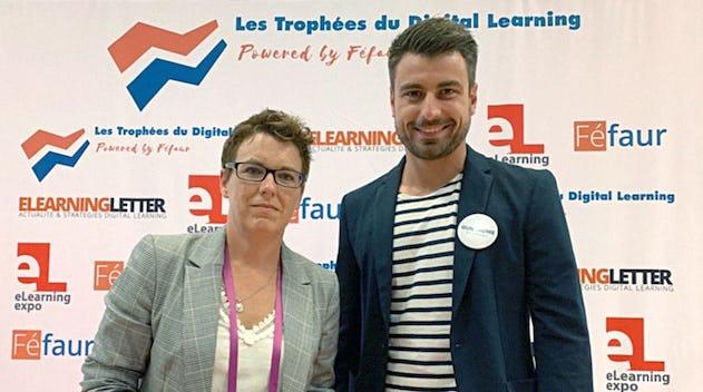 Alexandra VEQUAUD Cadre de Santé formateur à l'IFSI de Guéret, et Guillaume Etlin, Responsable Santé