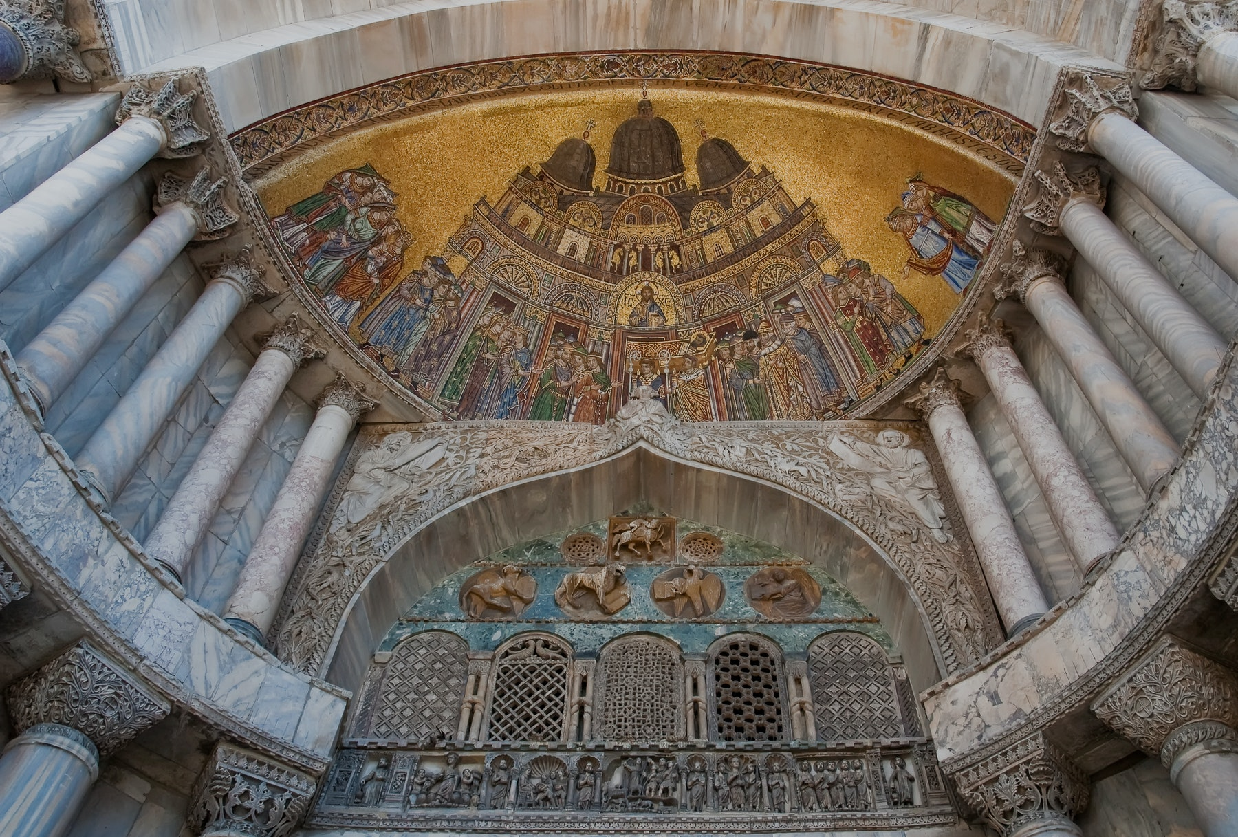 Entradas Basílica de São Marcos