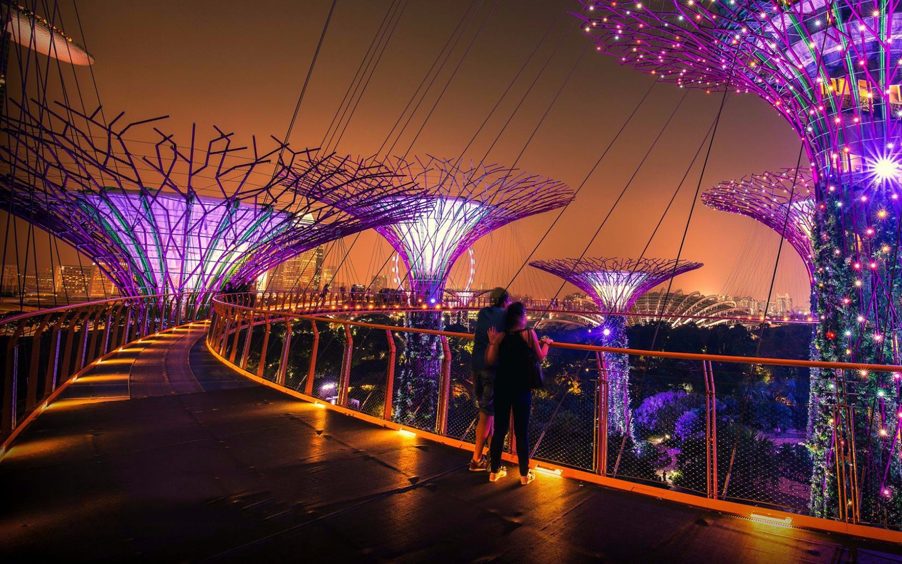 Gardens by the Bay Singapore Orient Express