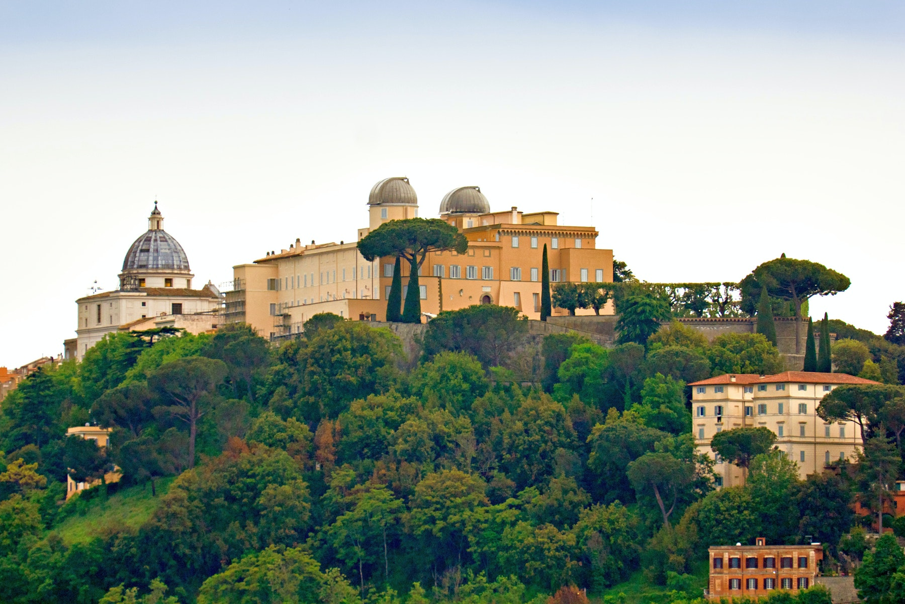 papal palace of castel gandolfo