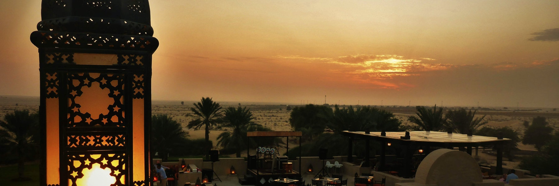 evening desert safari in dubai