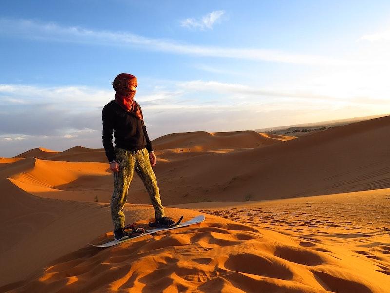 Safári no Deserto em Dubai pela Manhã