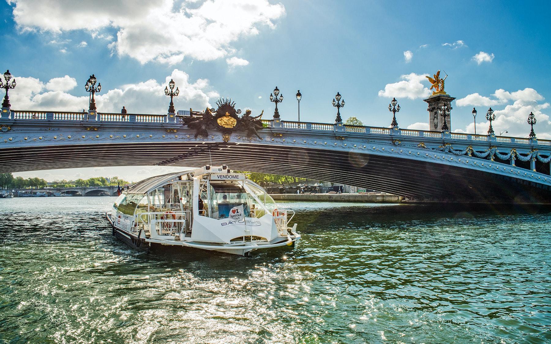 visites de Paris en bateau