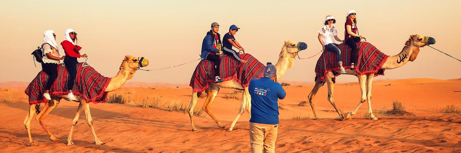 safari désert dubai soirée