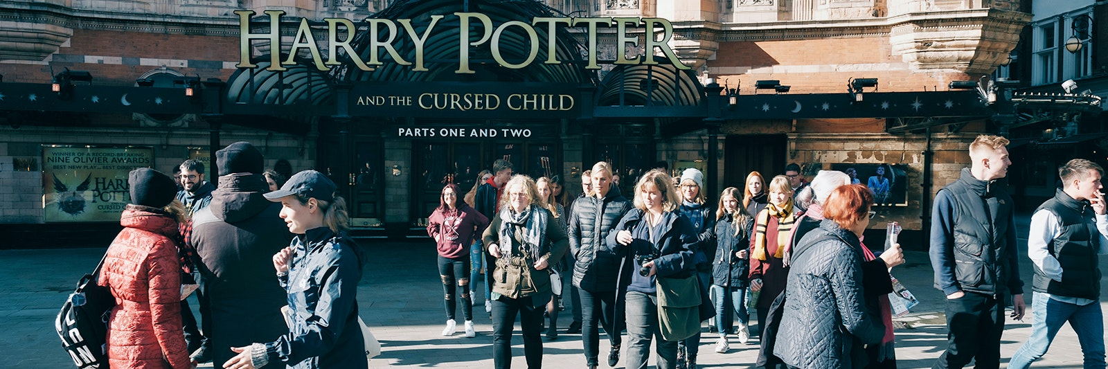 tour a piedi di harry potter