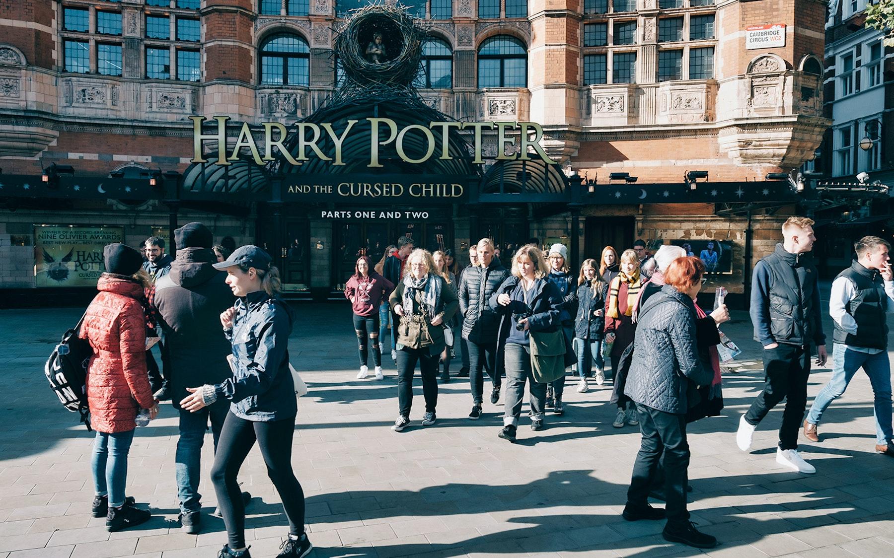 Excursão a pé de Harry Potter