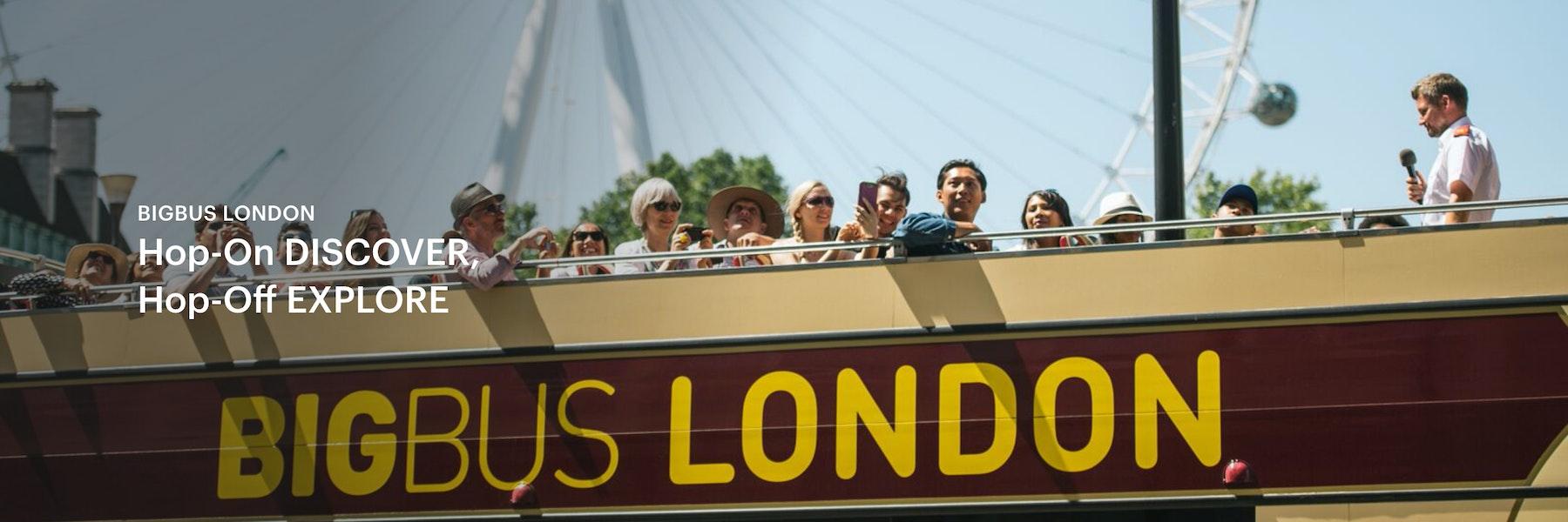 London Hop on hop off bus tours