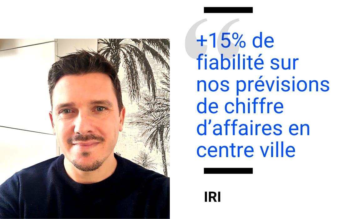 Témoignage de Jean-Baptiste Loigerot, Responsable Modèles et Géomarketing IRI