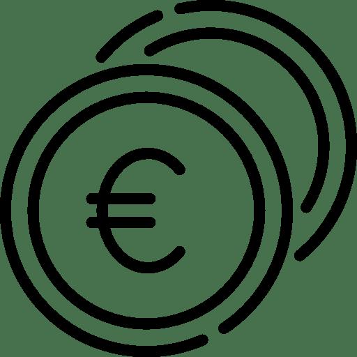 Icône devise