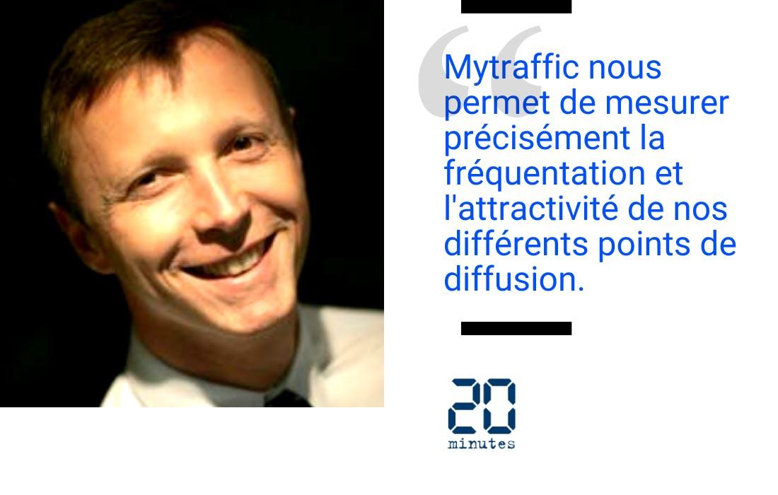Témoignage de Frédéric Lecarme Directeur Général Adjoint 20 Minutes