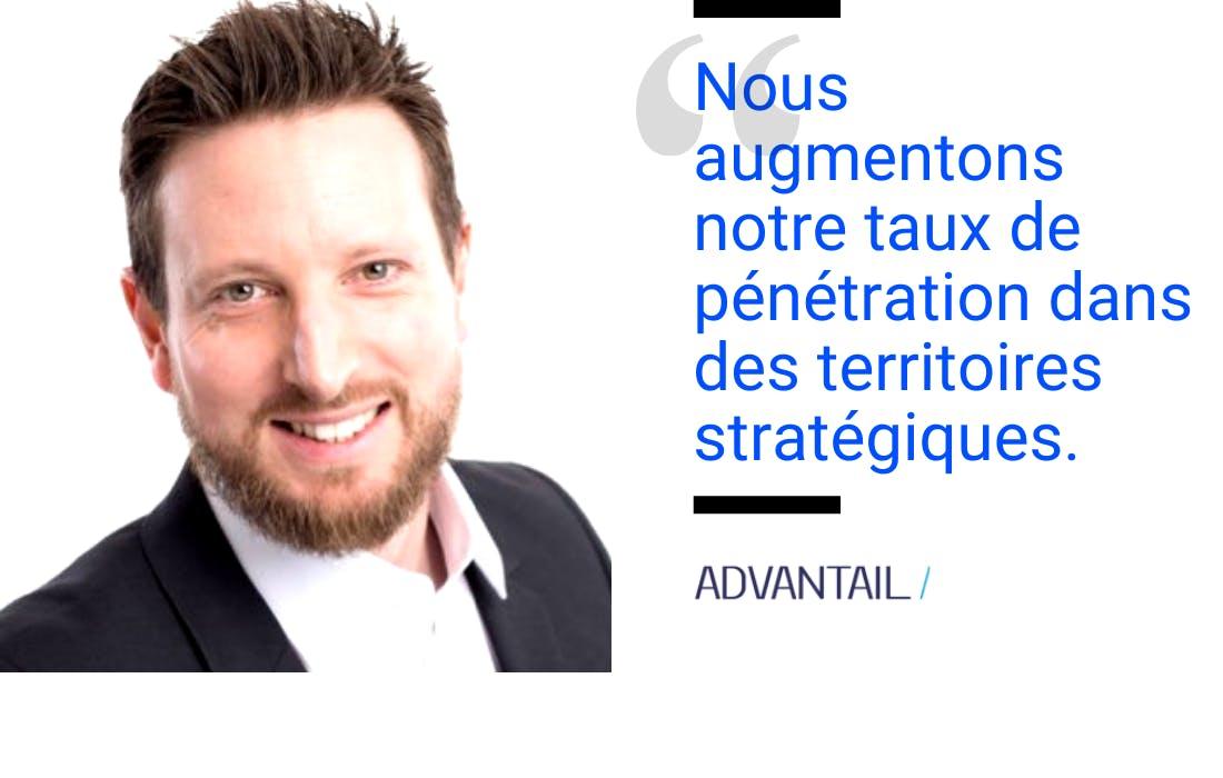 Vincent moreau directeur marketing et innovation Advantail