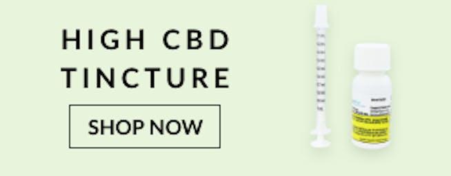 High CBD Cannabis Tincture
