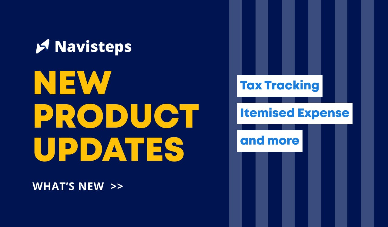 What's New: Tax Tracking, Itemised Expense and more