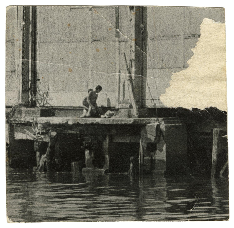 "Alvin Baltrop, ""Couple Having Sex,"" West Side Piers, New York, c. 1980"