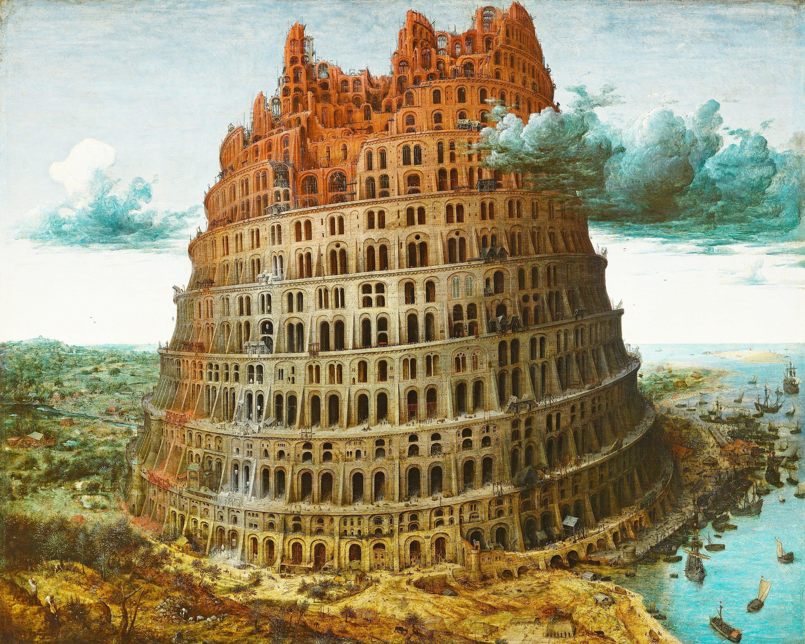 "Pieter Bruegel, ""The Tower of Babel,"" Brussels, 1568"