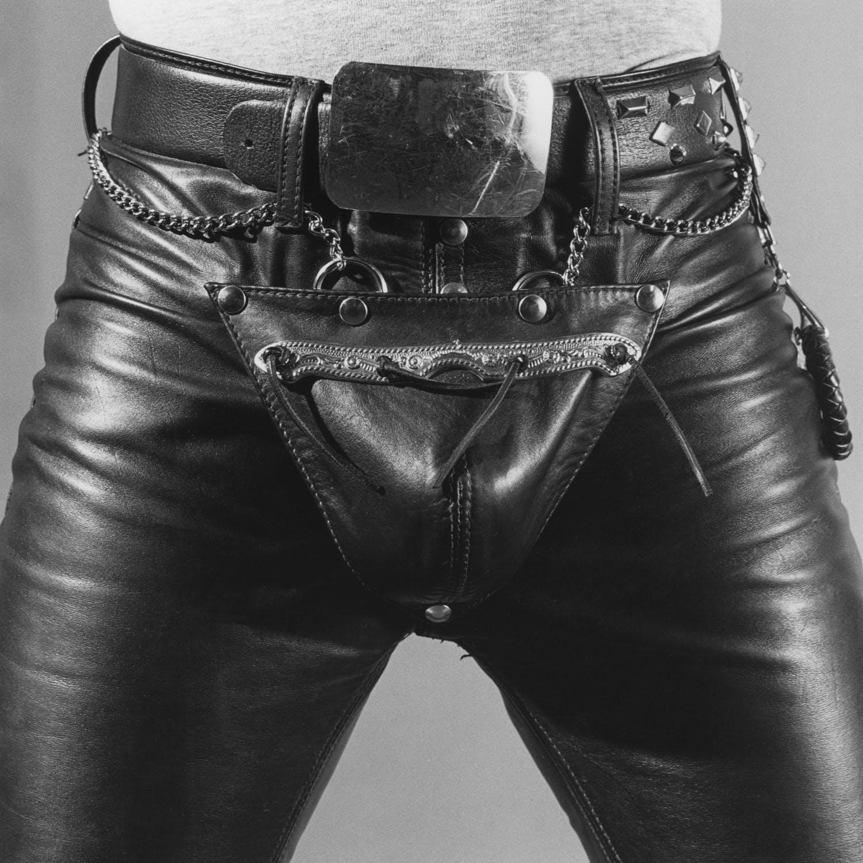 "Robert Mapplethorpe, ""Leather Crotch,"" New York, 1980"