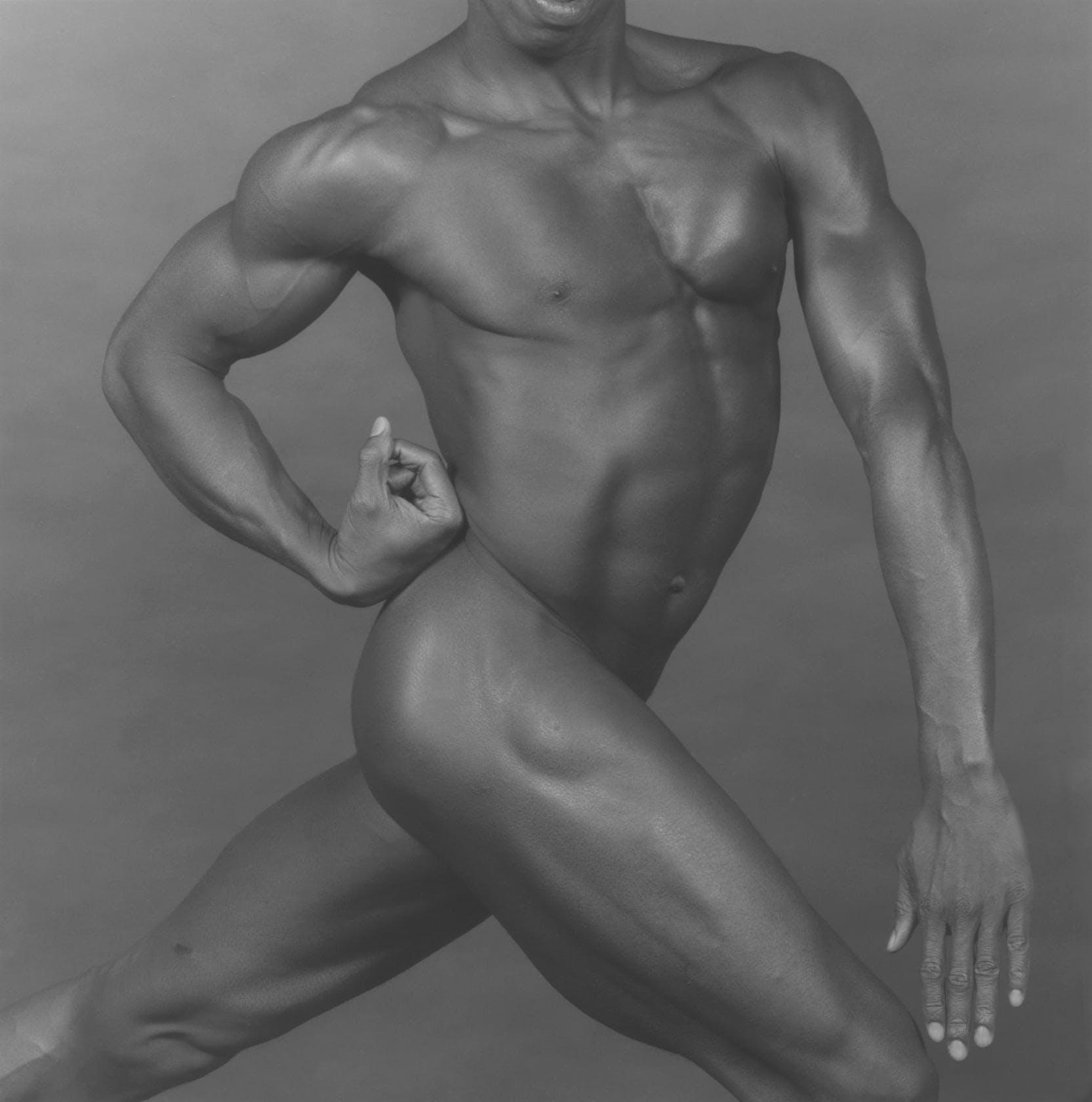 "Robert Mapplethorpe, ""Derrick Cross,"" New York, 1982"