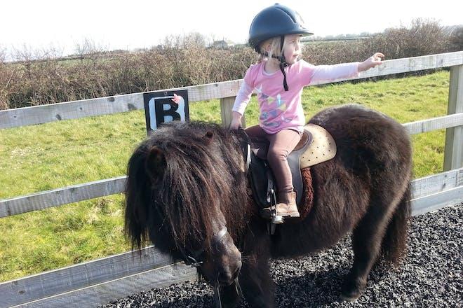 38. Go horse riding