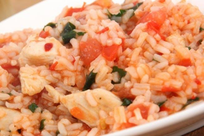 tomato and chicken rice