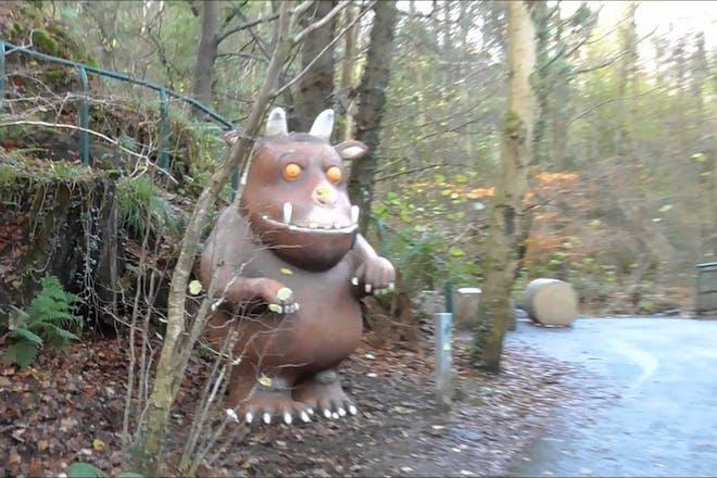 gruffalo at colin glen forest park