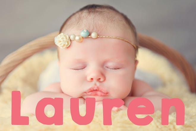 Baby name Lauren