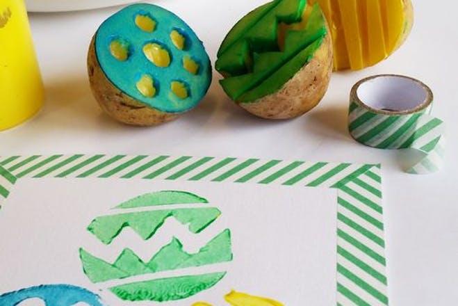 Printed Easter patterns