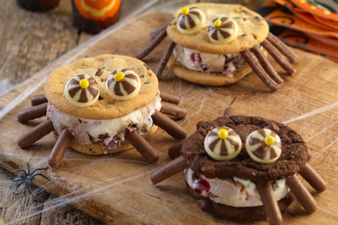 halloween ice cream sandwiches