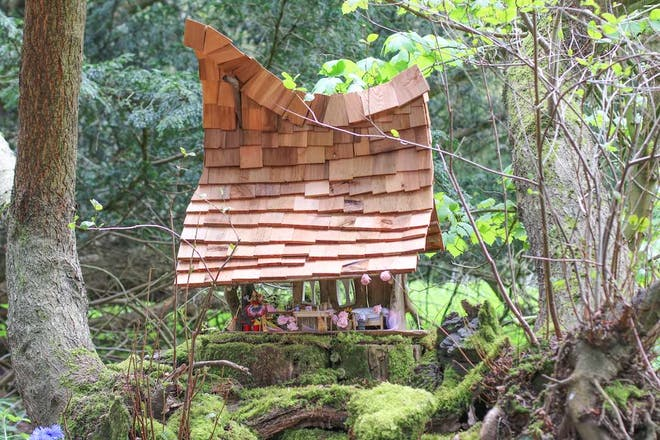 fairy house at Audley End