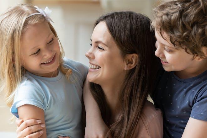 Single mum with kids