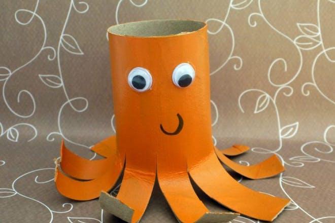 ollie octopus junk modelling