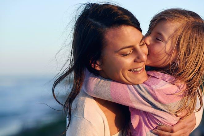 single mum with daughter