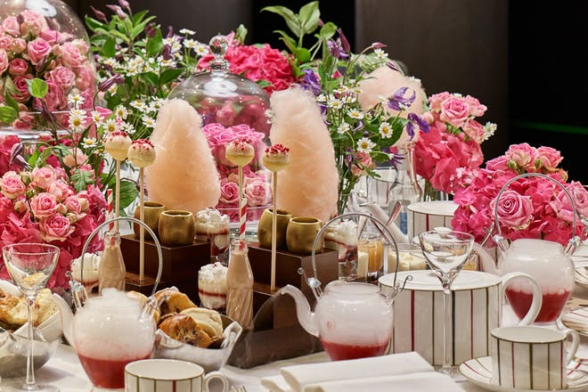 charlie and the chocolate factory inspired afternoon tea
