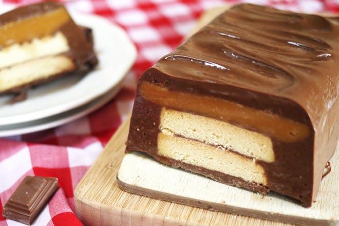 Giant Twix cake