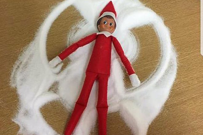 Snow angel elf