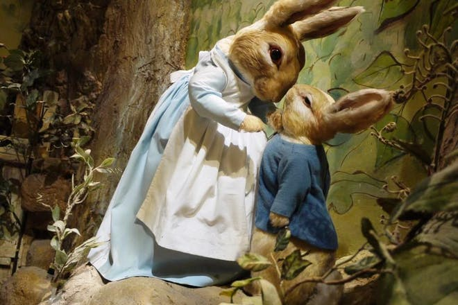 peter and mrs rabbit