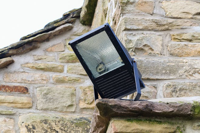 10. Installing bright security lighting