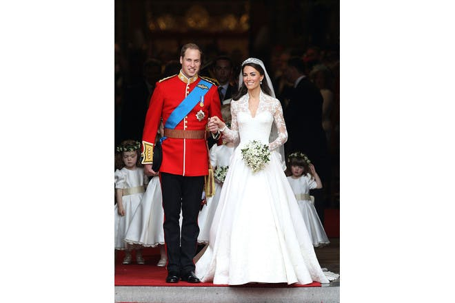 6. Kate Middleton – the dress