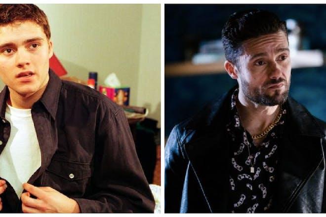 Ben Freeman then and now