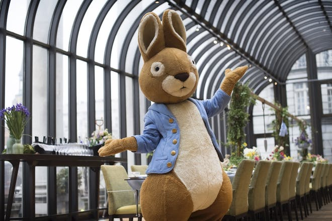 Peter Rabbit at The Dilly